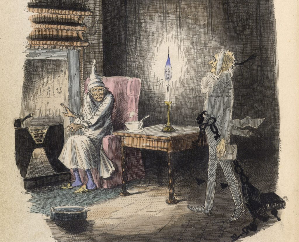 Illustration from ''A Christmas Carol'' by Charles Dickens