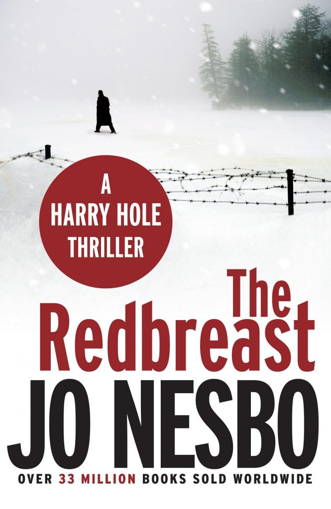 Winter books. Cover of ''The Redbreast'' by Jo Nesbo.