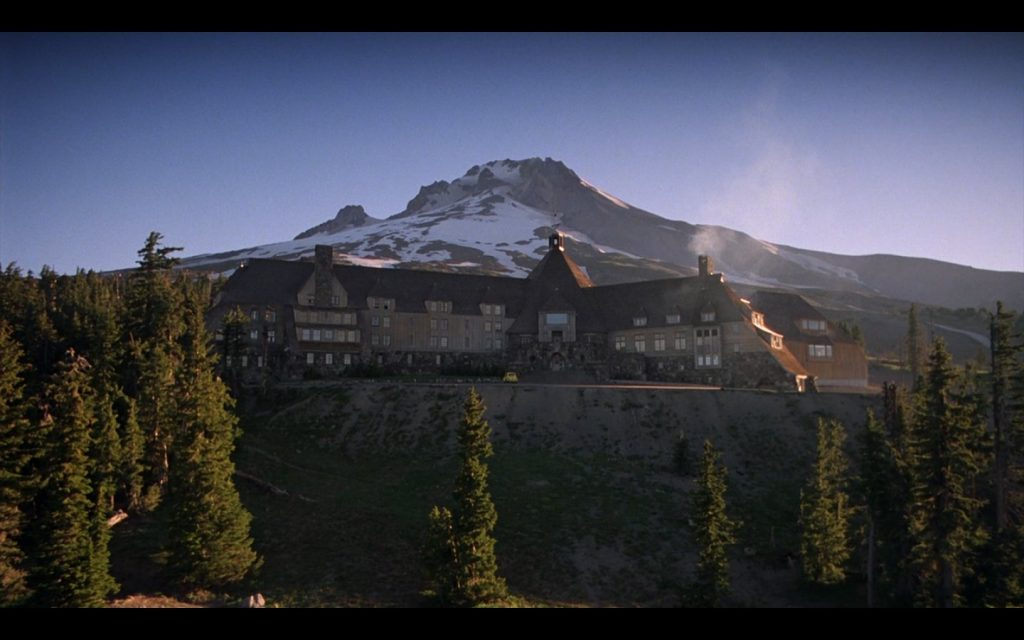 The Overlook Hotel from the Shining