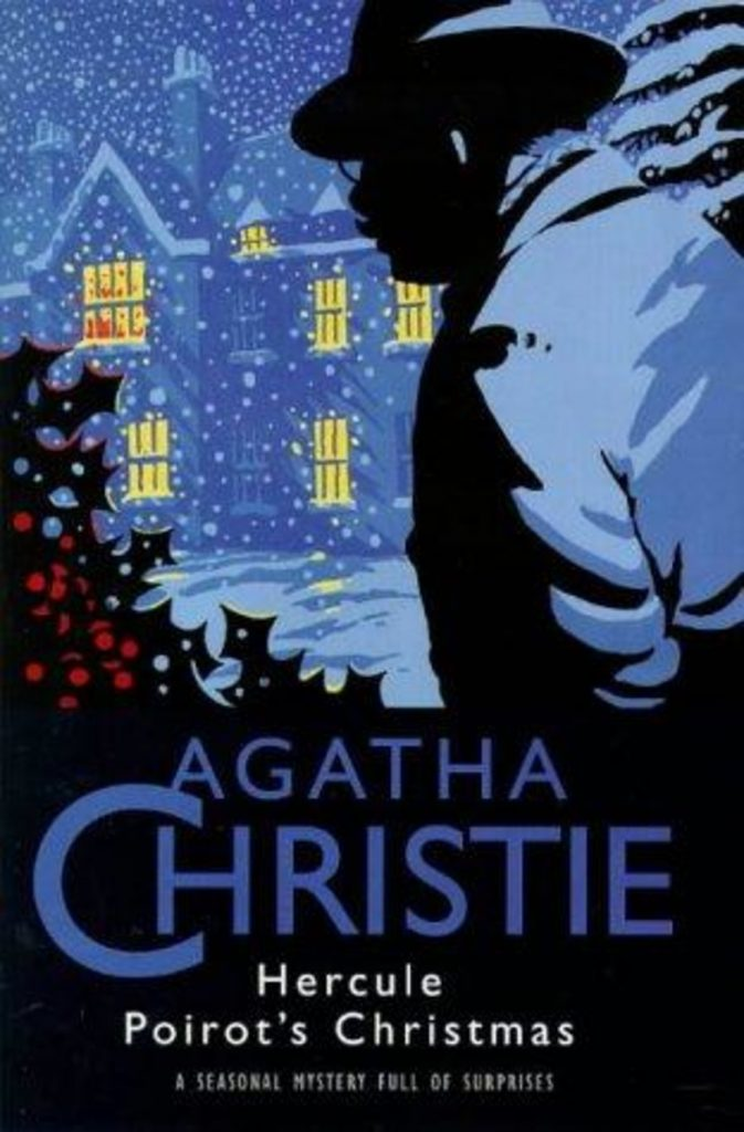 winter books. Hercule Poirot's Christmas, by Agatha Christie.